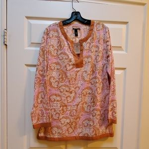 NWT Lucky Brand tunic size large